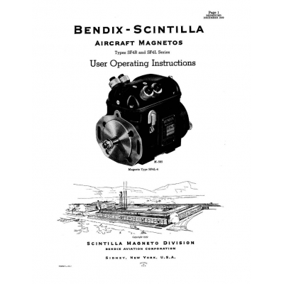 Bendix-Scintilla SF4R & SF4L Series Magnetos, parts