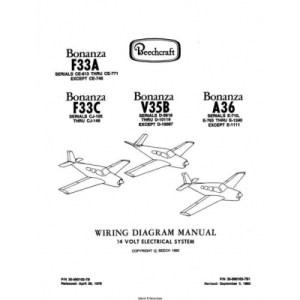 Beechcraft Bonanza F33A F33C V35B A36 Wiring Diagram