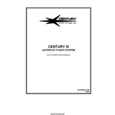 Century III Autopilot Flight System Pilot's Operating