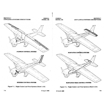 Cessna 152 Information Manual 1981 $9.95