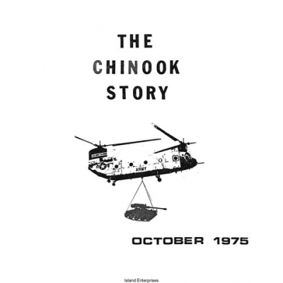 Boeing CH-47 Chinook Helicopter History Booklet 1975 $2.95
