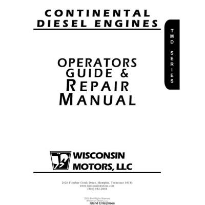 Continental Diesel Engines Operators Guide & Repair Manual
