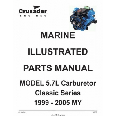 Crusader L510020 Marine Engines Model 5.7L Carburetor