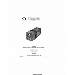Narco ELT-910 Emergency Locator Transmitter Owner's Manual