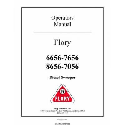Flory 6656-7656 & 8656-7056 Diesel Sweeper Operators