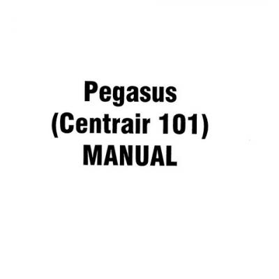 Gliders Pegasus Centrair 101, 101P, 101A, 101AP Flight