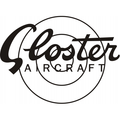 Gloster Aircraft Decal/Logo!
