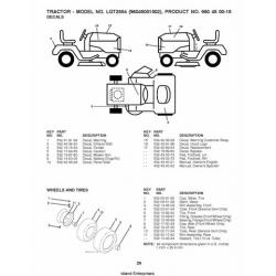 Husqvarna LGT2554 (96045001502) Tractors/Ride Mowers