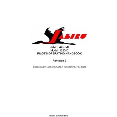 Jabiru J230-D Aircraft Pilot Operating Handbook 2010 $5.95