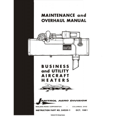 Janitrol Business & Utility Aircraft Heaters Maintenance