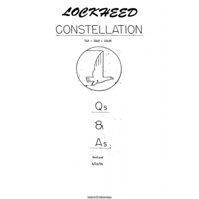 Lockheed Constellation 749- 1049- 1049C Question and