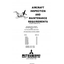 Mitsubishi MU-2B-MU-2B-40 Aircraft Inspection and