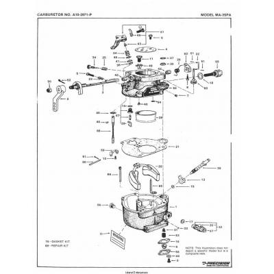 Marvel-Schebler Aircraft Parts Franklin $ 2.95