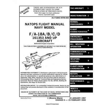 McDonnell Douglas F/A-18A/B/C/D 161353 & UP Aircraft