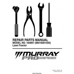 Murray Pro Series 164891 (96016001500) Lawn Tractor Repair