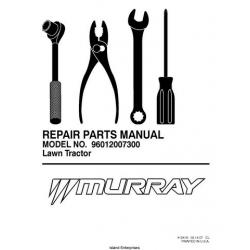 Murray MX17542LT (96012007300) Lawn Tractor Repair Parts
