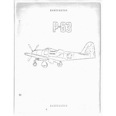 Bell P-63 Kingcobra Flight Manual $2.95