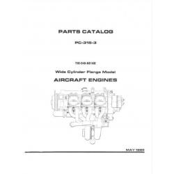 Lycoming Parts Catalog PC-315-3 TIO-540-AB1AD $13.95
