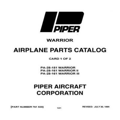 Piper Warrior PA-28-151 Warrior, PA-28-161 Warrior II