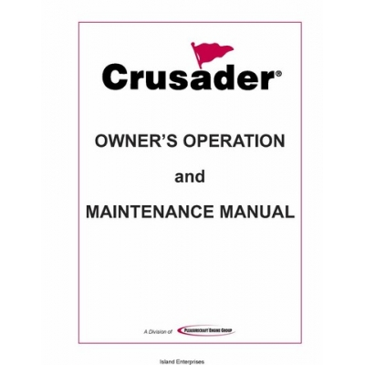 PCM Crusader L510001-06 Marine Engines Owner's Operation