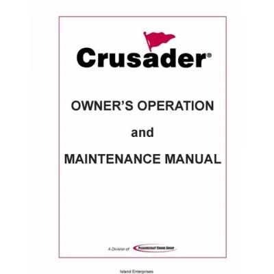 PCM Crusader L510001-10 Marine Engines Owner's Operation