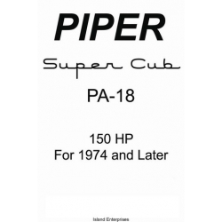 Piper Super Cub PA-18 150hp for 1974 and Later Information