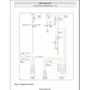 Pontiac GTO System Wiring Diagrams 2004 $595