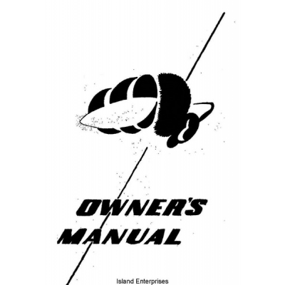 Republic RC-3 Airplane Owner's Manual $4.95