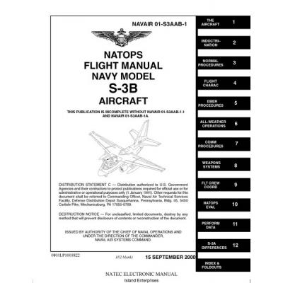 Lockheed S-3B Viking Navy Model Aircraft NAVAIR 01-S3AAB-1