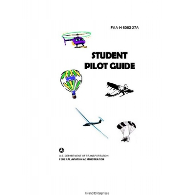 Student FAA-H-8083-27A Pilot Guide 2006 $4.95
