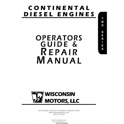 Wisconsin Continental TMD Series Diesel Engine Opertaors