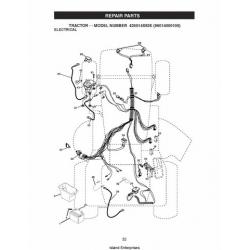 Tractor Model 425014X92E (96014000100) Repair Parts Manual