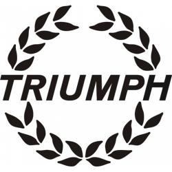 Triumph Round ! Sticker/ Decal Vinyl Graphics!