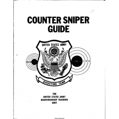 US Army Counter Sniper Guide $2.95