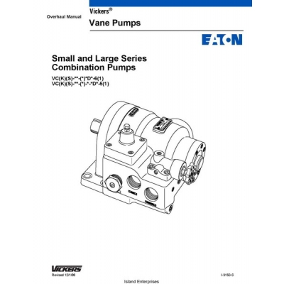 Vickers i3050S Small and Large Series Combination Pumps