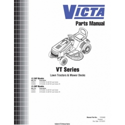 Victa VT Series Lawn Tractors & Mower Decks 1752482 Parts