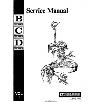 Wheel Horse B-C-D Series Tractors 810063R1 Service Manual