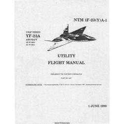 Northrop YF-23A USAF Series Aircraft NTM 1F-23-(Y)A-1