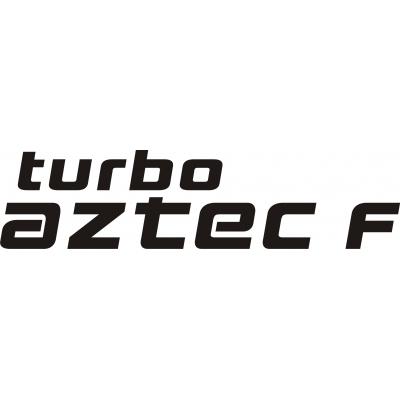 Piper Turbo Aztec F Aircraft,Logo,Decals!