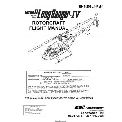Bell Model 206L4 Long Ranger-IV Rotorcraft Flight Manual