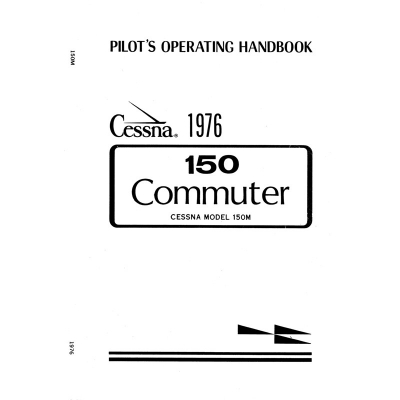 Cessna Model 150 Commuter 1976 Pilot's Operating Handbook