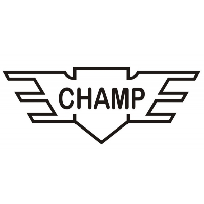 Aeronca Champ Aircraft Logo,Decal/Sticker 5.75''h x 13.25''w!