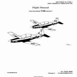 Navair A1-T6BAA-NFM-100 USAF/USN Series T-6B Aircraft