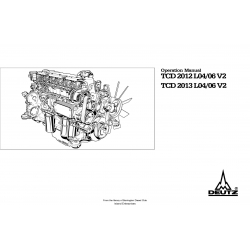 Deutz Engine TCD 2012-2013 L04-06 V2 Operation Manual