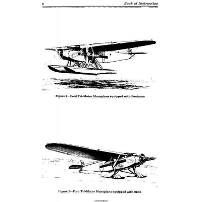 Ford Trimotor Instruction Manual $9.95