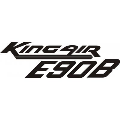 Beechcraft King Air E90B Aircraft Decal,Sticker!