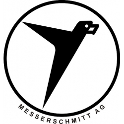 Messerschmitt Aircraft Logo Decals/Stickers! 5