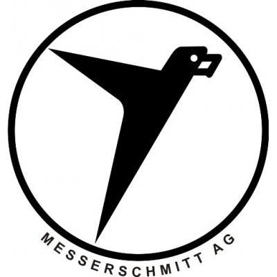 Messerschmitt Aircraft Logo Decals/Stickers! 5