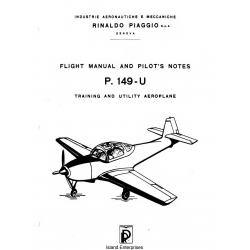 Piaggio P.149-U Flight Manual and Pilot's Notes $19.95