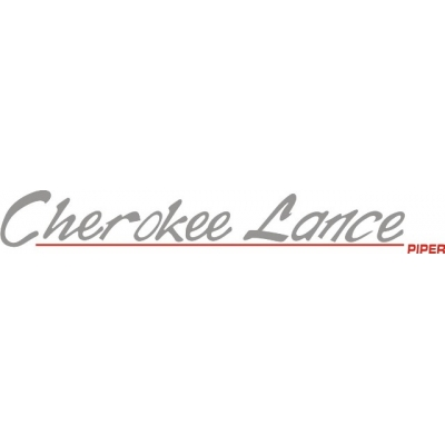 Piper Cherokee Lance Decal/Sticker 1.7
